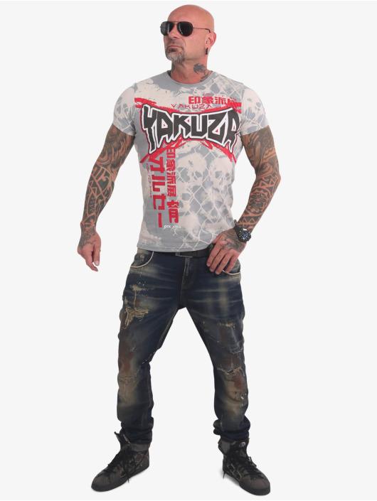 Yakuza T-Shirt Killing Fields grey