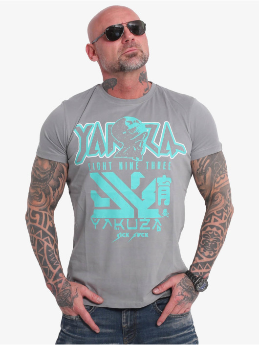 Yakuza T-Shirt Nippon Zombie grey