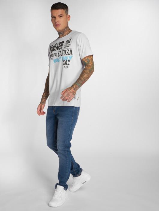 Yakuza t-shirt U R Beautiful grijs