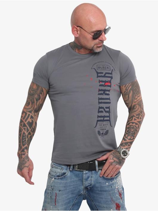 Yakuza t-shirt Ammo grijs