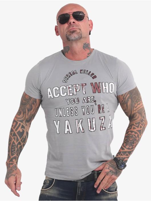 Yakuza t-shirt Swine grijs