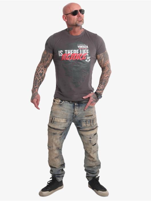 Yakuza t-shirt Life Before grijs