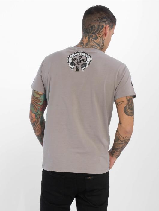 Yakuza T-Shirt Profile gris
