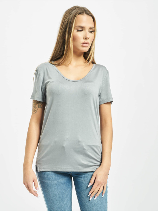 Yakuza T-Shirt 893Love Emb V Neck gris