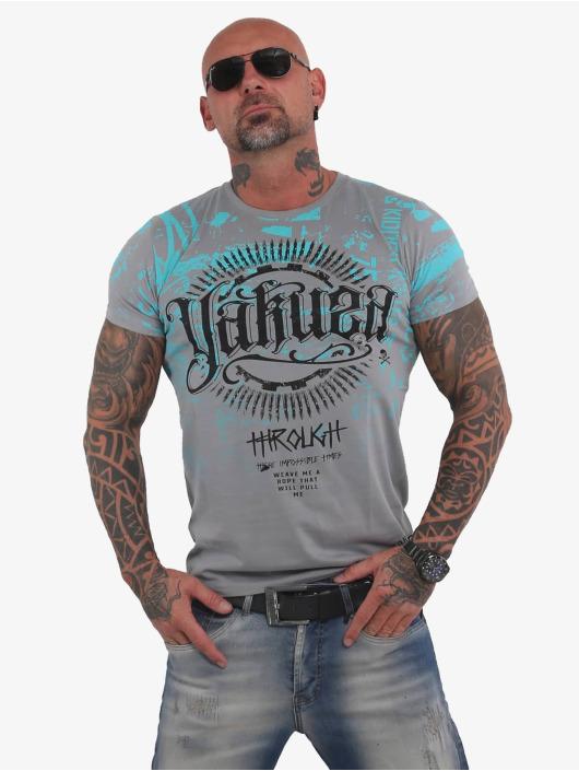 Yakuza T-Shirt Through Times gris