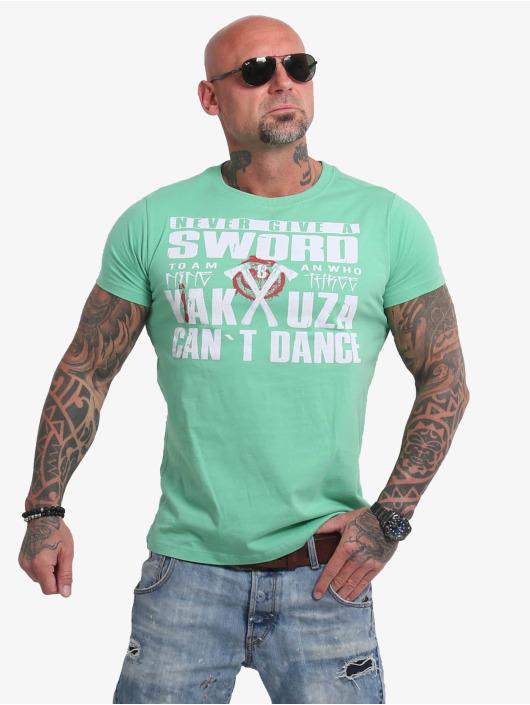Yakuza T-Shirt Sword grün