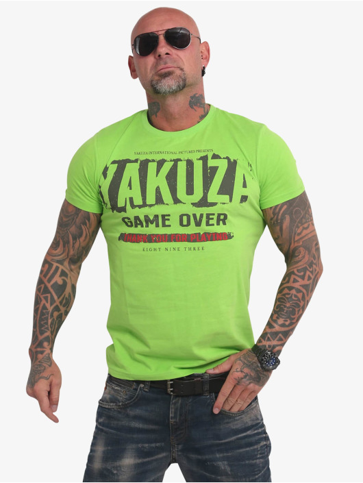 Yakuza T-Shirt Hating Clown grün