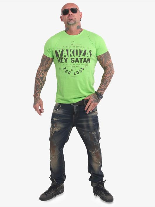 Yakuza T-Shirt Hey Satan grün