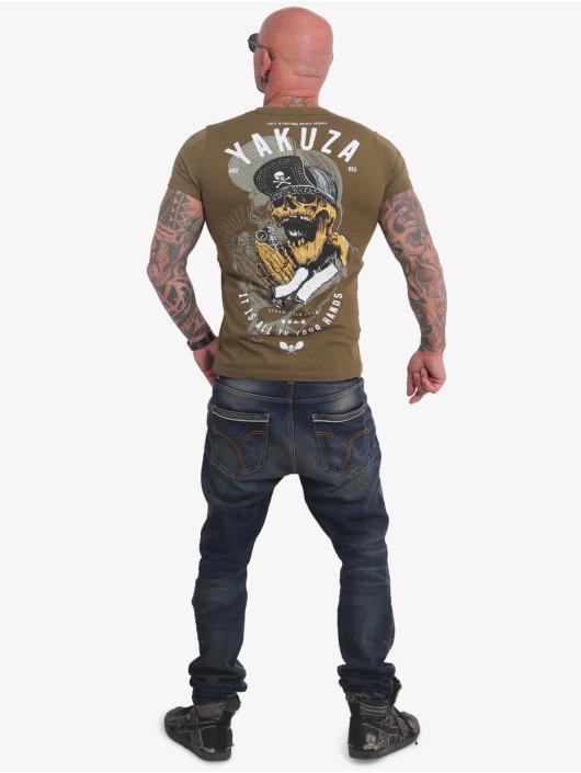 Yakuza T-Shirt Wey grün