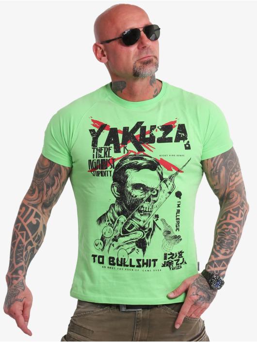 Yakuza T-Shirt Stupidity grün