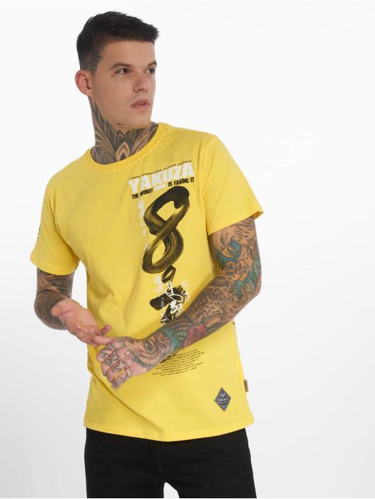Yakuza T-Shirt Join US jaune