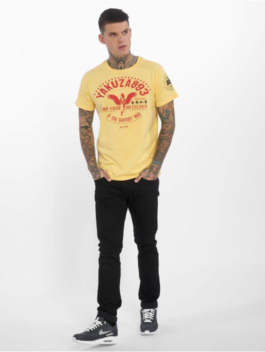 Yakuza T-Shirt Support ? jaune
