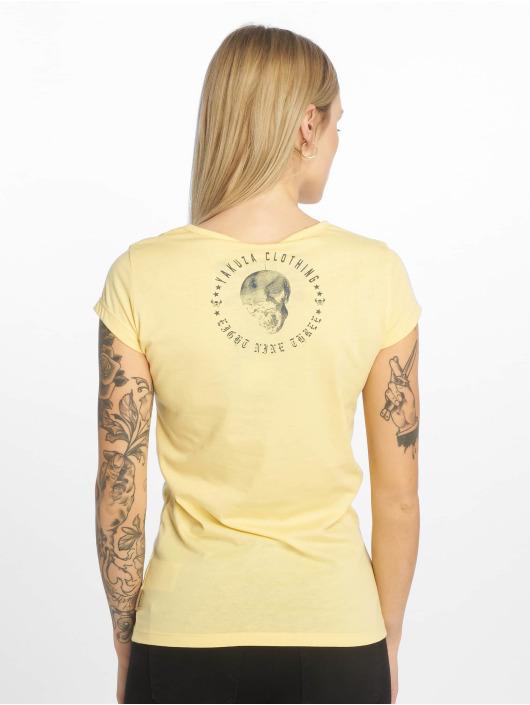 Yakuza T-Shirt Your Hate jaune