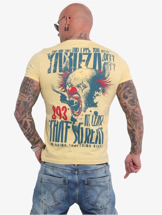 Yakuza T-Shirt Piss Off jaune