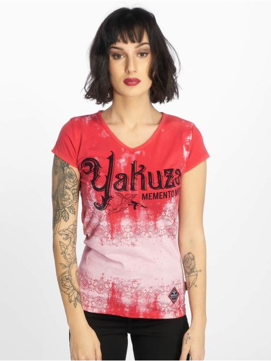 Yakuza T-Shirt Gradient magenta