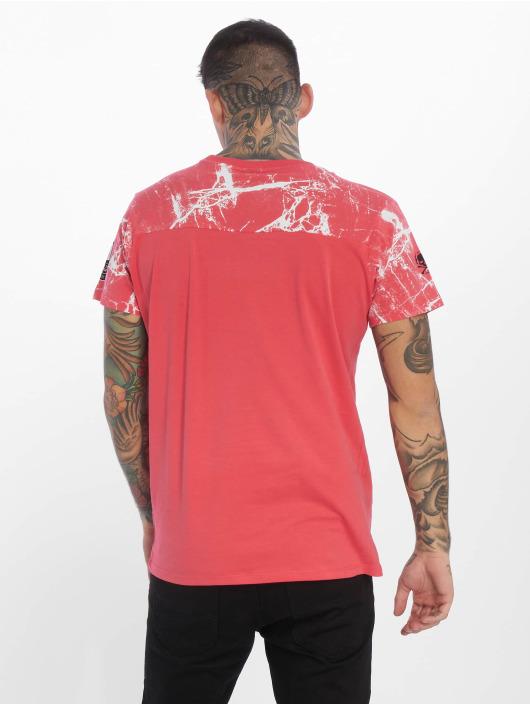 Yakuza T-Shirt Marble magenta