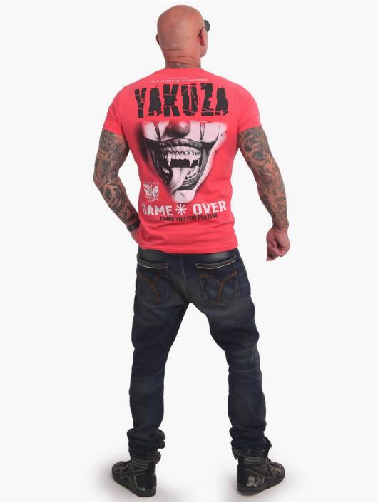 Yakuza T-Shirt Game Over magenta