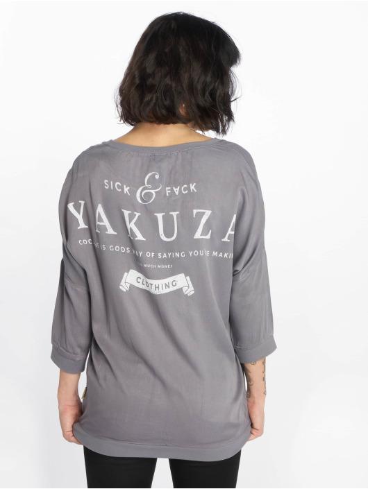Yakuza T-Shirt manches longues Imperator gris