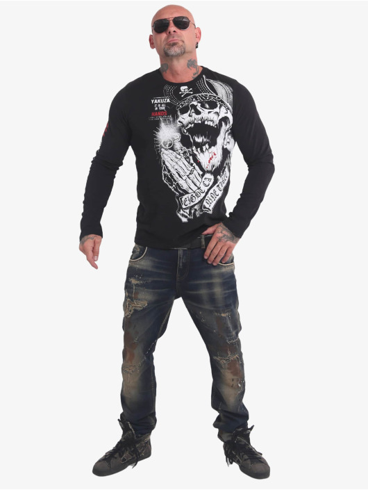 Yakuza T-Shirt manches longues Carnal noir