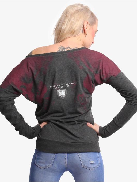 Yakuza T-Shirt manches longues Authentic noir