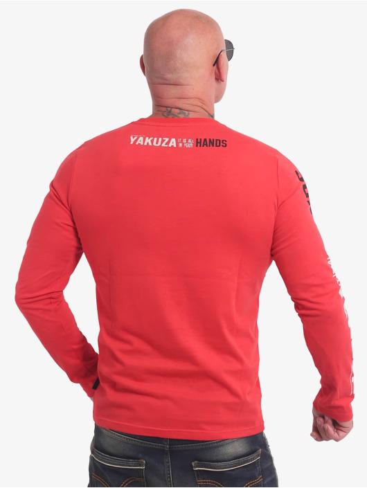 Yakuza T-Shirt manches longues Carnal rouge