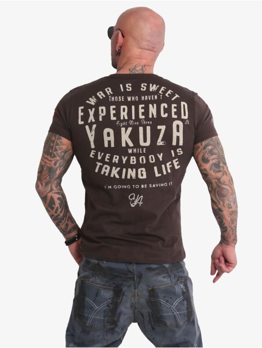 Yakuza T-shirt Sweet War marrone