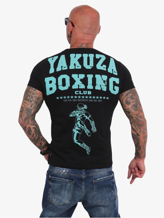 Yakuza T-shirt Boxing Club nero