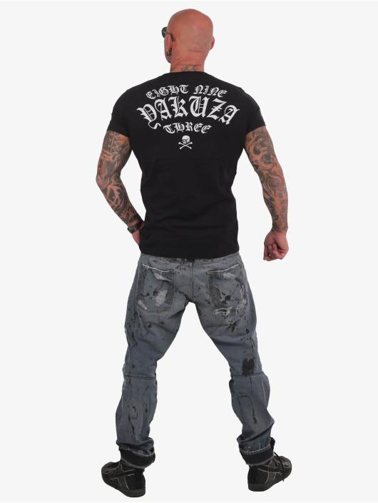 Yakuza T-shirt Dead End nero