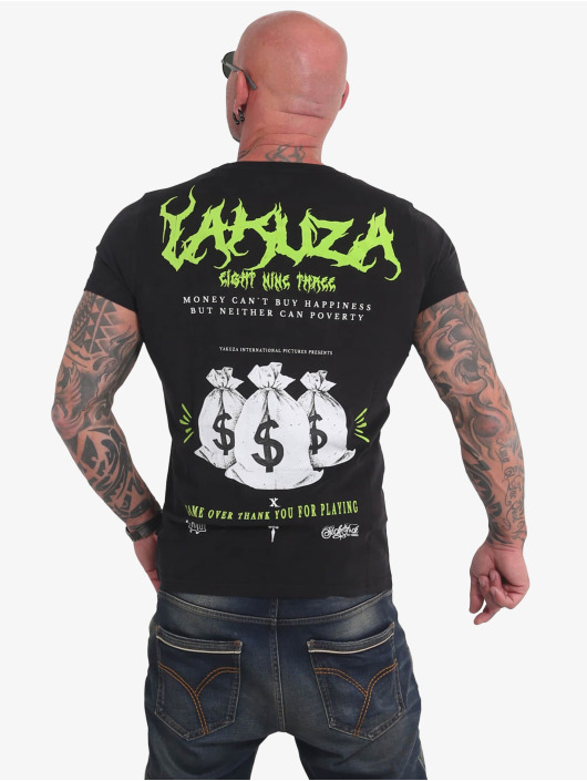 Yakuza T-shirt Buy Happiness nero