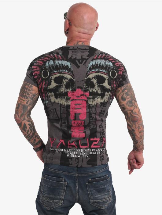 Yakuza T-shirt Sick Nippon V02 nero
