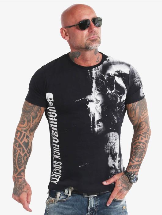 Yakuza T-shirt Waiting Death nero