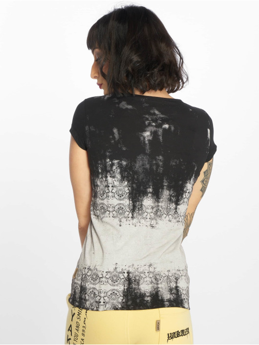 Yakuza T-Shirt Gradient noir