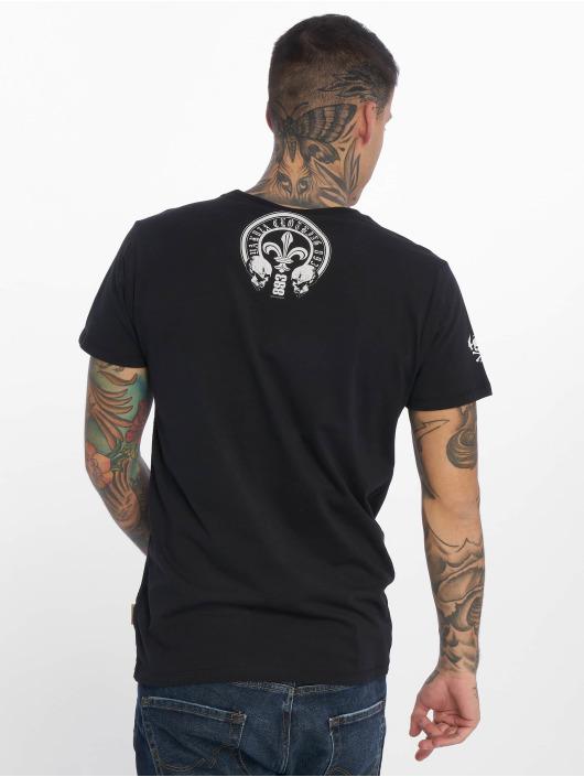 Yakuza T-Shirt Profile noir