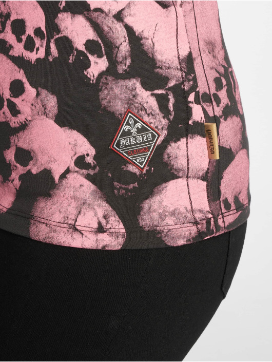 Yakuza T-Shirt Warrior V-Neck noir