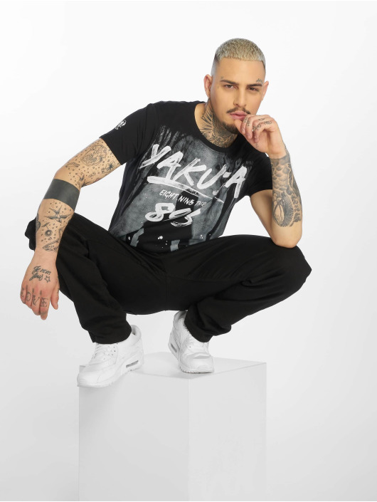 Yakuza T-Shirt Lock Up noir