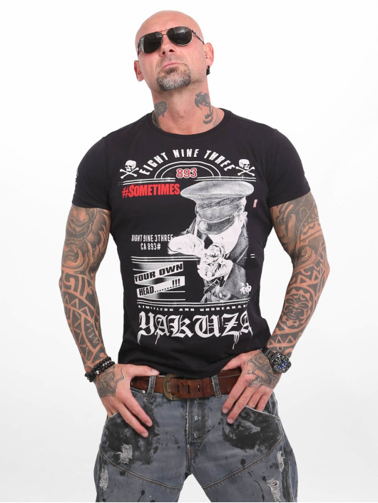 Yakuza T-Shirt Own Head noir