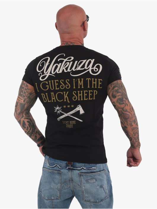 Yakuza T-Shirt Black Sheep noir