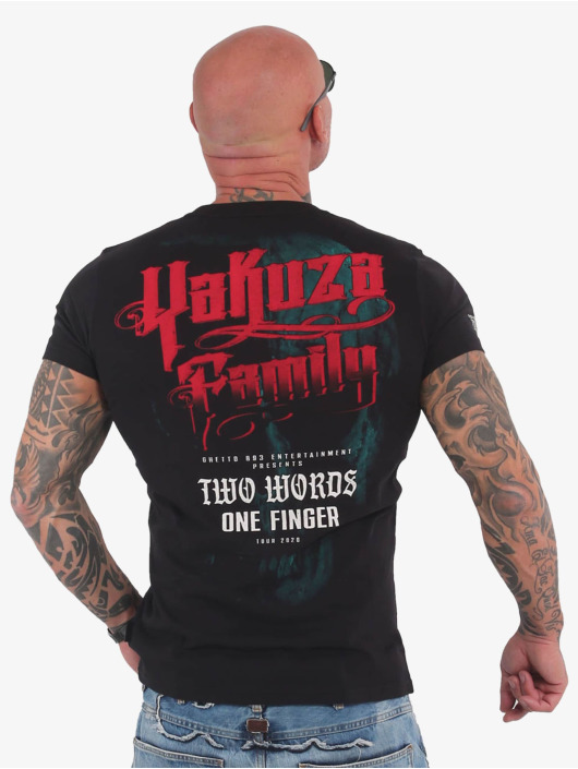 Yakuza T-Shirt 2Word noir