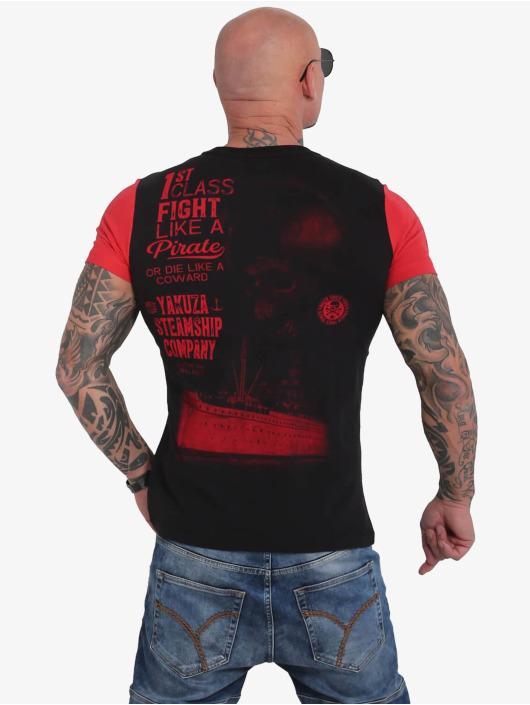 Yakuza T-Shirt Pirates Of The 893 noir