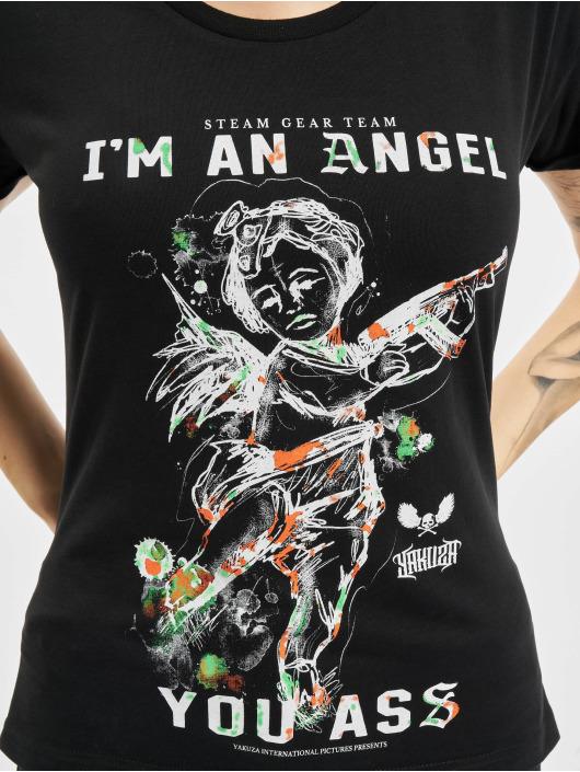 Yakuza T-Shirt Angel Box Fit noir