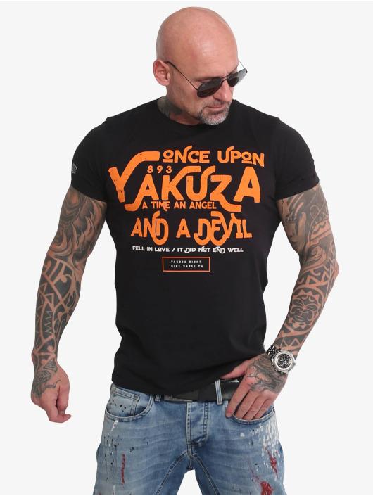 Yakuza T-Shirt Once Upon noir