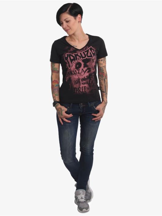 Yakuza T-Shirt Asesinatol V-Neck noir