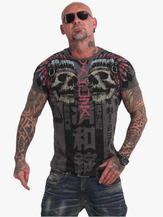Yakuza T-Shirt Sick Nippon V02 noir