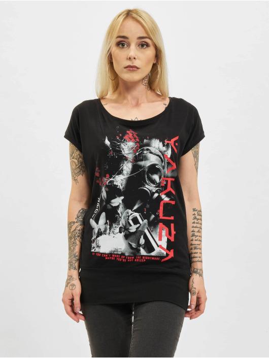 Yakuza T-Shirt Respirator V02 Wide Crew noir
