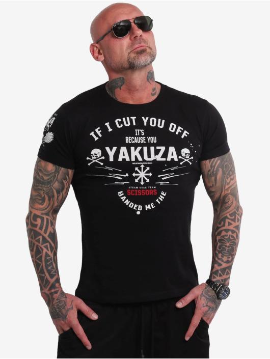 Yakuza T-Shirt Scissors noir