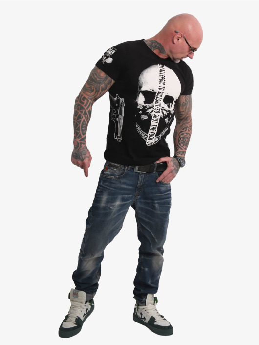 Yakuza T-Shirt Gaucho noir
