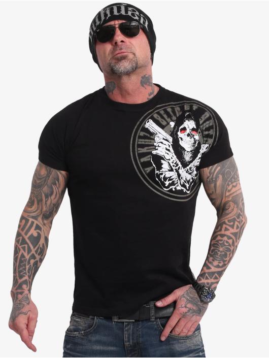 Yakuza T-Shirt Trouble noir