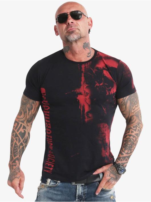 Yakuza T-Shirt Waiting Death noir