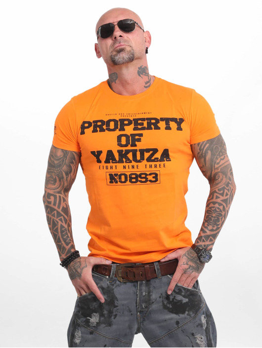Yakuza T-Shirt Property orange
