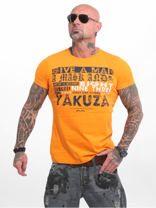 Yakuza T-Shirt Fly orange